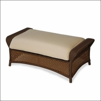 Lloyd Flanders Grand Traverse Cuddle Ottoman Replacement Cushion