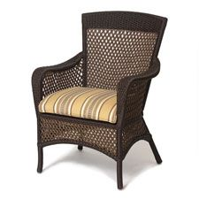 Lloyd Flanders Grand Traverse Dining Chair Replacement Cushion