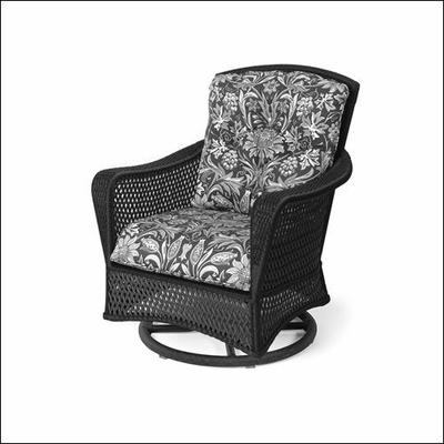Lloyd Flanders Grand Traverse Swivel Chair Glider Replacement Cushion Set