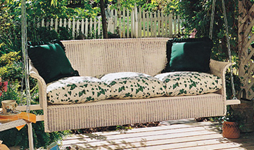 Lloyd Flanders Heirloom Sofa Porch Swing Replacement Cushions Set