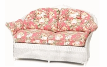 Lloyd Flanders Keepsake Loveseat Cushion Set