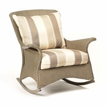 Lloyd Flanders Mandalay Lounge Rocker Replacement Cushion Set