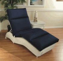 Lloyd Flanders Single Adjustable Chaise Cushion