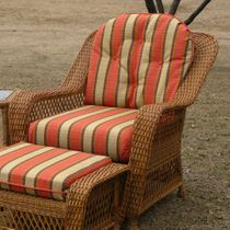 Nantucket Wicker Chair Replacement Cushion Set