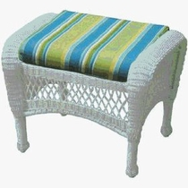 North Cape/General Wicker Ottoman Cushion