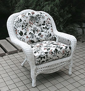 North Cape Wicker Club Chair Replacement Cushion Set