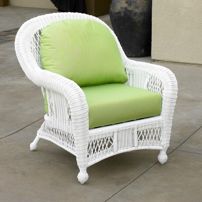North Cape Wicker St Lucia Chair/Rocker Replacement Cushion Set