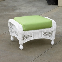 North Cape Wicker St Lucia Ottoman Cushion