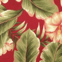 Palm Floral Garden: Indoor/Outdoor Fabric