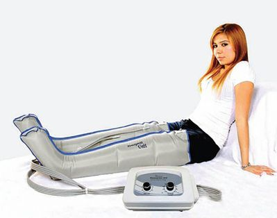 Air Sequential Compression Massage Therapy - Complete X Large Full Leg Set