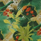 CLARENCE HOUSE BAHIA TROPICAL FABRIC BEIGE MULTI
