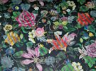 DESIGNERS GUILD CHRISTIAN LA CROIX MALMAISON EXOTIC FLORAL BLOOMS GLAZED CHINTZ FABRIC 10 YARDS