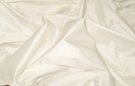 SAMPLE SCALAMANDRE SHANGRI-LA SILK DUPIONI FABRIC IVORY