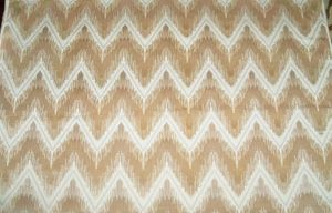 SCHUMACHER SHOCK WAVE CHEVRON OMBRE CUT VELVET UPHOLSTERY FABRIC 10 YARDS, CUSTOM COLORWAY