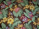 SCALAMANDRE OLD WORLD WEAVERS KEY WEST TROPICAL BIRD OF PARADISE FABRIC 10 YARDS