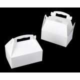 "867 - 8 1/2"" x 5 1/2 "" x 3 1/2"" White/White Auto Bottom Gable Top Box"