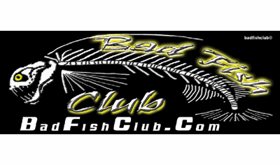 Bad Fish Club  Decal
