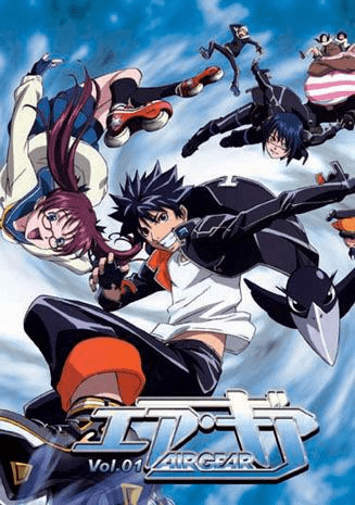 Air Gear ~ Tv Series Vol.1