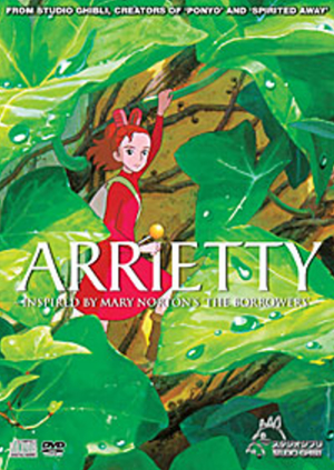 Arrietty (Studio Ghibli film) English Dubbed