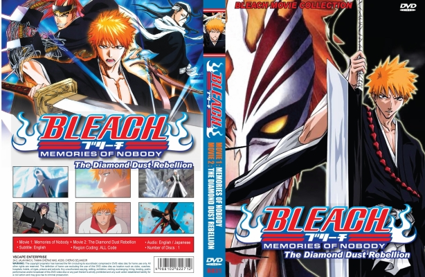 Bleach Movie Collection Movie 1 & 2 English Dubbed
