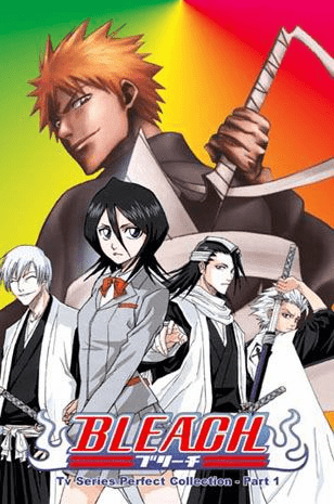 Bleach ~ Tv Series Perfect Collection - Part 1-7 English Dubbed 1-135