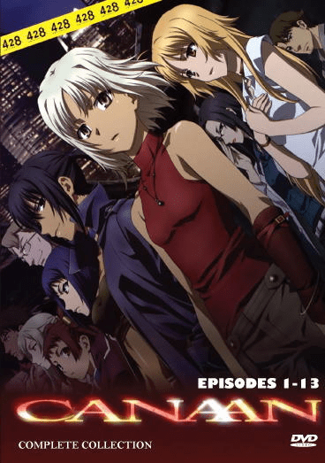 Canaan (1 disc) English dubbed