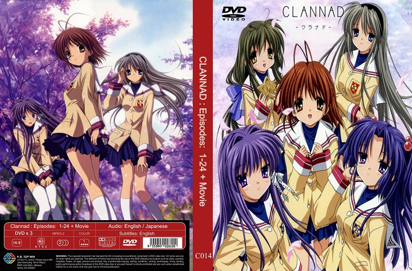 Clannad Season 1 + Movie English Dubbed