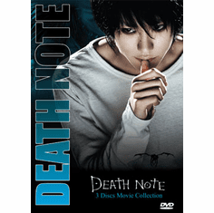 Death Note Movies Collection (3 Movie English Dubbed on 1 disc )