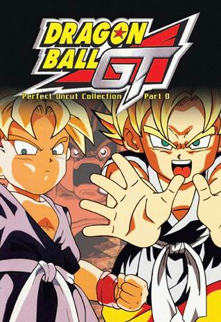 Dragon Ball GT - Perfect Uncut Collection Part 0, 1, 2 (English Dubbed)