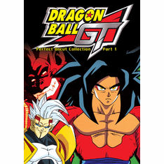 Dragon Ball GT - Perfect Uncut Collection Part 1 English Dubb