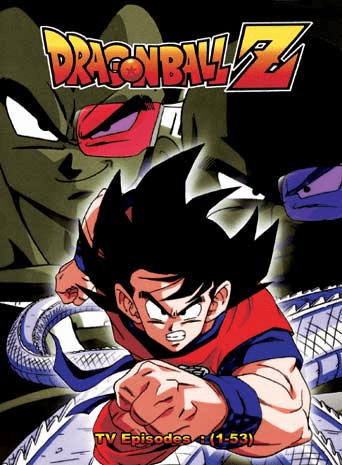 DragonBall Z TV Part 1 & 2 Episodes 1-53 English Dubbed