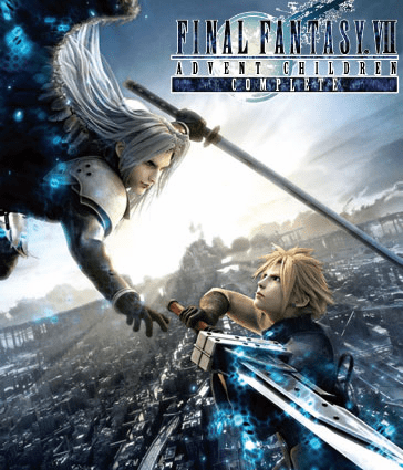 Final Fantasy VII 7 Advent Children Blu-Ray