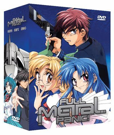 Full Metal Panic Limited Edition (7 discs)