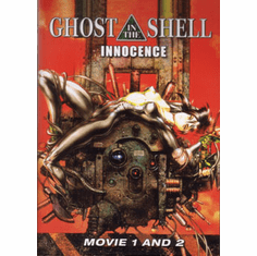 Ghost in the Shell Movie 1 + 2 (1 disc)