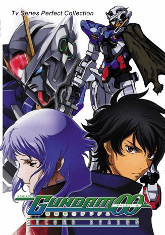 Gundam 00 ~ Second Season ~ Tv Series Perfect Collection  English Dubbed