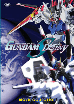 Gundam Seed Destiny Movie Collection (1 disc)