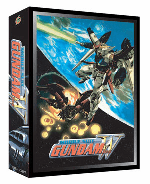 Gundam Wing TV + Movie (7 discs)