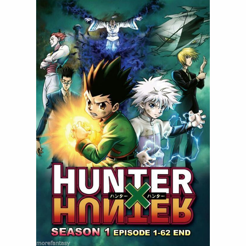Hunter X Hunter Season 1 Episode 1-62 End  (English Dubbed)