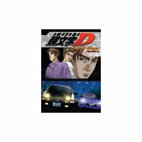 Initial D 4th Stage (3 discs)