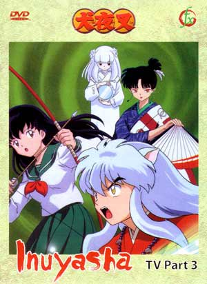 Inuyasha TV Part 3 (3 discs)
