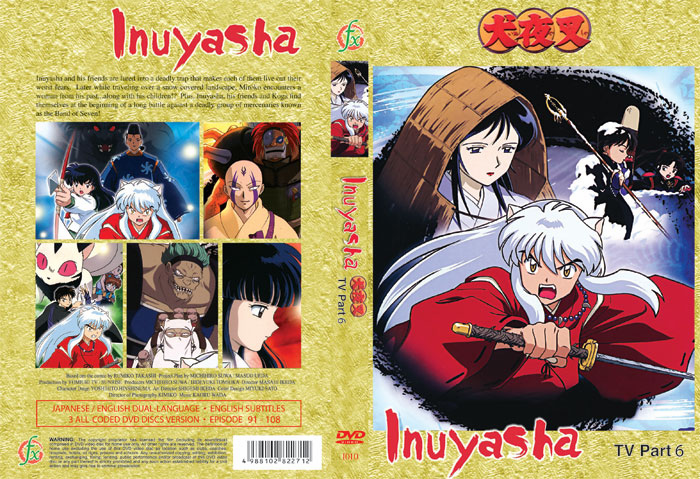 Inuyasha TV Part 6 (3 discs)