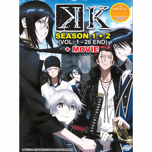 K Animation Season 1 + 2 Episode 1-26 End + The Movie