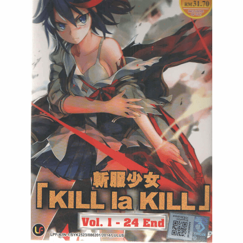 Kill La Kill ( Vol. 1-24 End ) English Subtitle