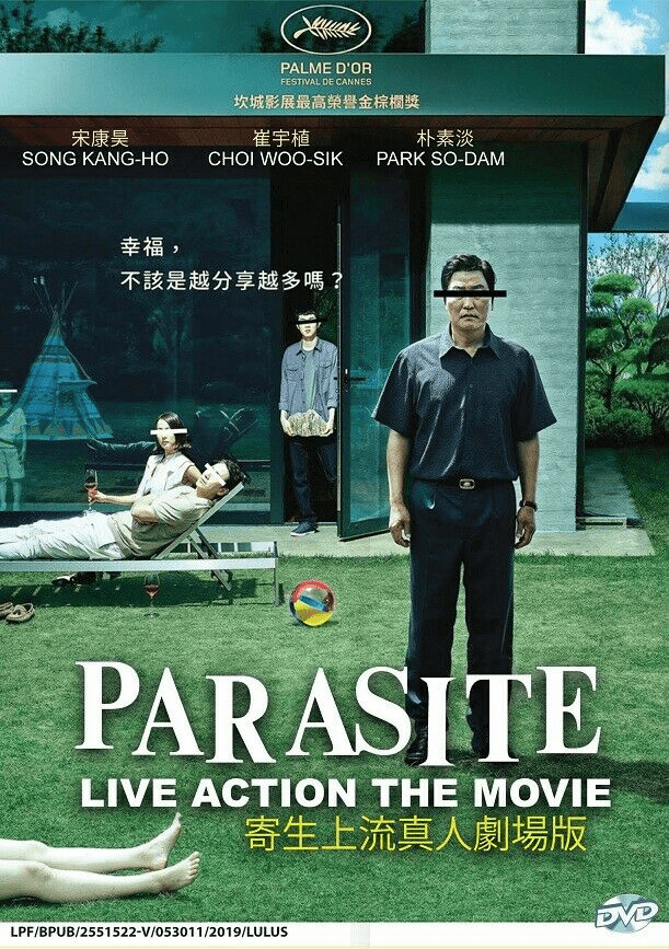 Korean Drama Parasite Live Action Movie
