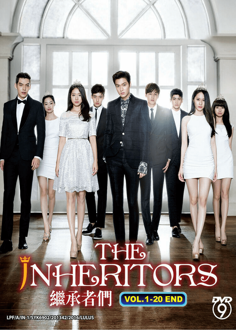 Korean Drama THE INHERITORS Heirs 1-20 End Series