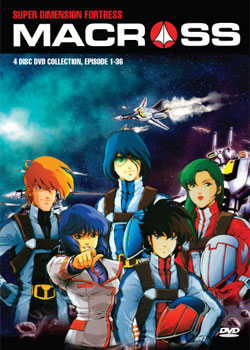 Macross Super Dimension Fortress (4 discs)