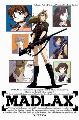 Madlax ~ Tv Series Comlete Box set