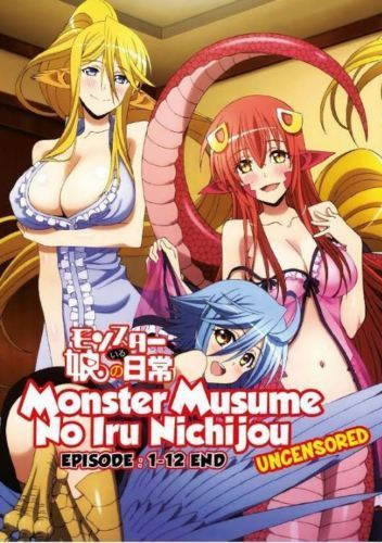 Monster Musume No Iru Nichijou Tv 1-12end Uncensored Version ( English SUB )