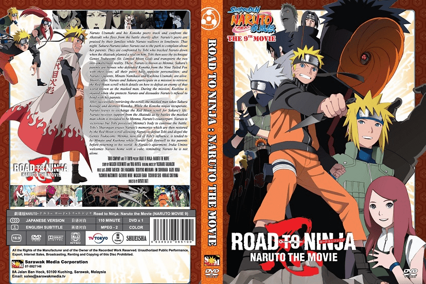 Naruto Movie 9 Road to Ninja