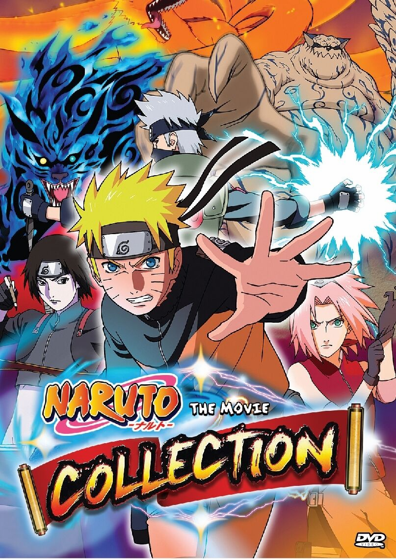 NARUTO Movie Collection 11 Movies box set Anime ENGLISH Dubbed
